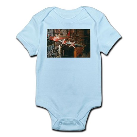 Star Airplanes. Infant Bodysuit
