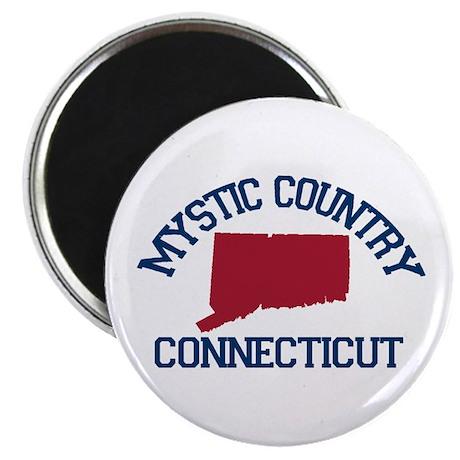 Mystic CT - Map Design. Magnet