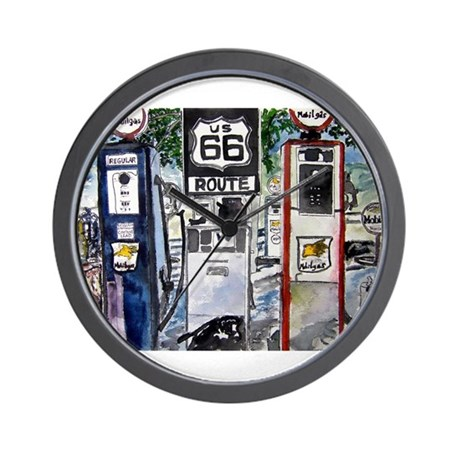 route_66.JPG Wall Clock
