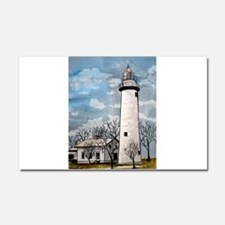 pointe_aux_Barques_Lighthouse.jpg Car Magnet 20 x