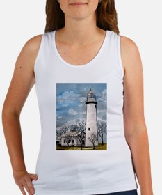 pointe_aux_Barques_Lighthouse.jpg Women's Tank Top