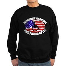 Proud Wounded Warrior Sweatshirt