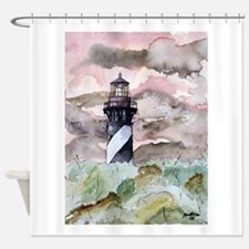 st_augustine_lighthouse.jpg Shower Curtain