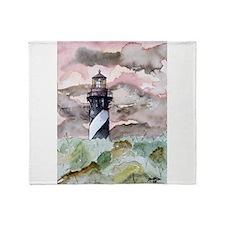 st_augustine_lighthouse.jpg Throw Blanket