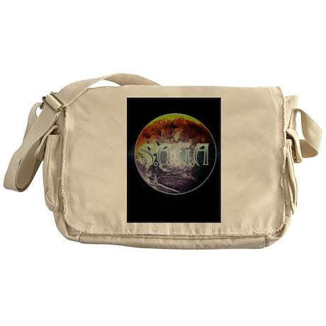 S.A.G.A. Brand Blaze GLOBE Messenger Bag