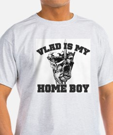 Vlad Is My Home Boy Ash Grey T-Shirt