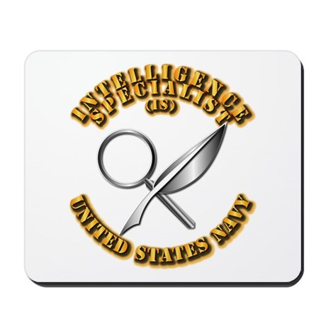 Navy - Rate - IS Mousepad