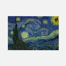 Starry ET Night Rectangle Magnet (10 pack)