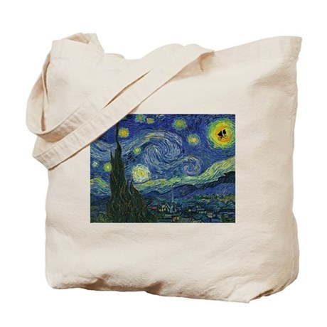 Starry ET Night Tote Bag