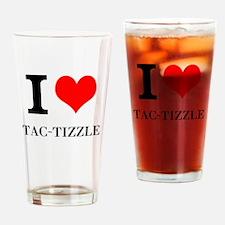 I LOVE TACOMA MERCH Drinking Glass