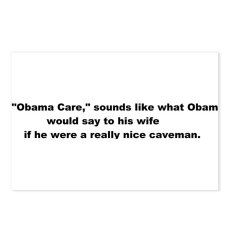 Obama_Care Postcards (Package of 8)
