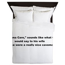 Obama_Care Queen Duvet