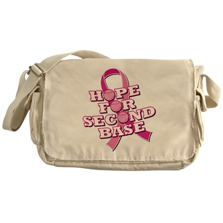 Hope For 2nd Base Messenger Bag