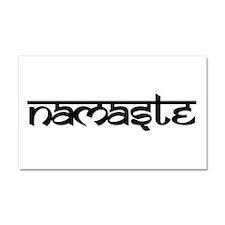 Namaste Car Magnet 20 x 12