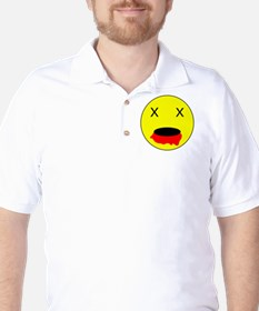 Zombie Smiley Face T-Shirt