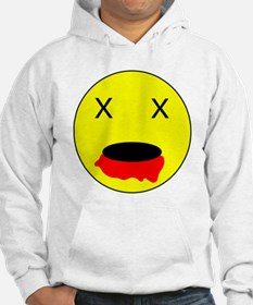 Zombie Smiley Face Hoodie
