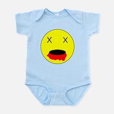 Zombie Smiley Face Infant Bodysuit