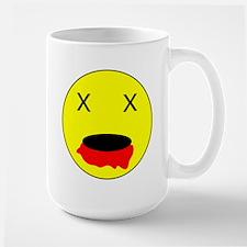Zombie Smiley Face Mug