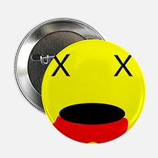 "Zombie Smiley Face 2.25"" Button"