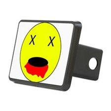 Zombie Smiley Face Hitch Cover