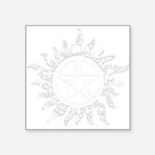 Cracked Anti-Possession Symbol Light Square Sticke