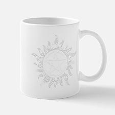 Cracked Anti-Possession Symbol Light Mug