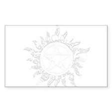 Cracked Anti-Possession Symbol Light Decal