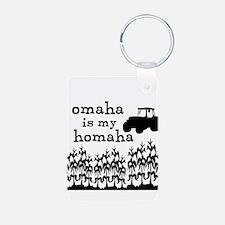 Omaha is My Homaha! Keychains