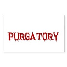 I'd Rather Be In Purgatory Light Decal