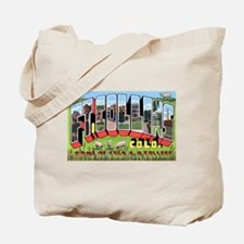 Fort Collins Colorado Greetings Tote Bag