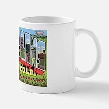 Fort Collins Colorado Greetings Mug