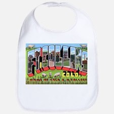 Fort Collins Colorado Greetings Bib