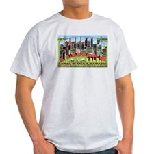 Fort Collins Colorado Greetings Ash Grey T-Shirt