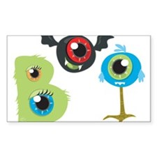 Boo Monsters Decal