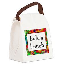 Lulu's Canvas Lunch Bag