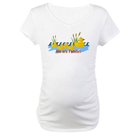 we-are-duck-family.gif Maternity T-Shirt