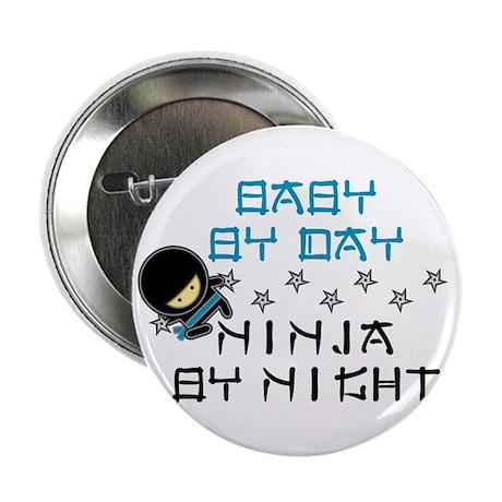 "Baby Ninja Blue 2.25"" Button (10 pack)"