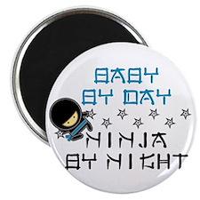 Baby Ninja Blue Magnet