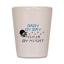 Baby Ninja Blue Shot Glass
