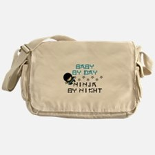 Baby Ninja Blue Messenger Bag