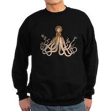 Brown Octopus Sweatshirt