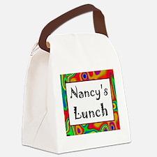 Nancy's Canvas Lunch Bag