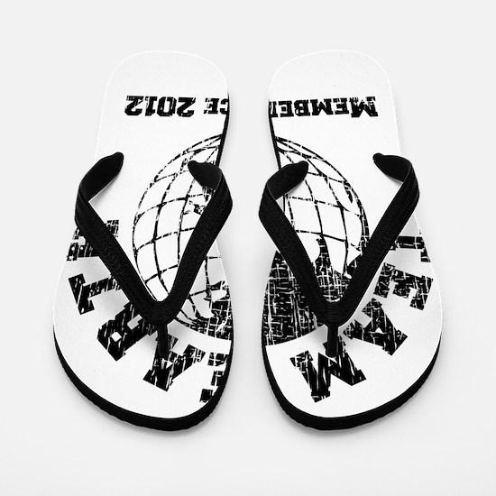 Team Earth : Member Since 2012 Flip Flops