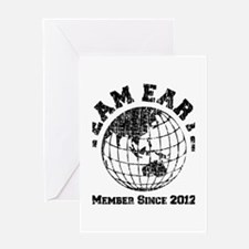 Team Earth : Member Since 2012 Greeting Card