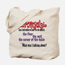 Fibromyalgia Introduction Tote Bag
