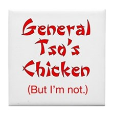 General Tso's Chicken - Tile Coaster