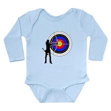 archery man Long Sleeve Infant Bodysuit