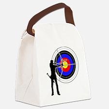 archery man Canvas Lunch Bag
