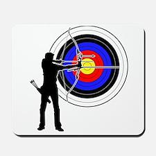 archery man Mousepad
