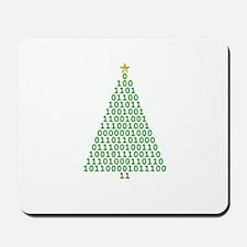 Binary Merry Christmas Mousepad